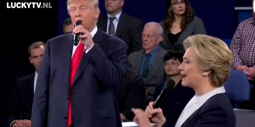 Duet Clinton en Trump van Lucky TV 'hit' in Amerika
