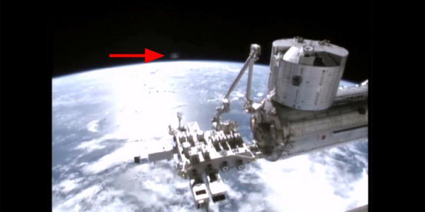 Consternatie om filmpje met mogelijke UFO bij ISS