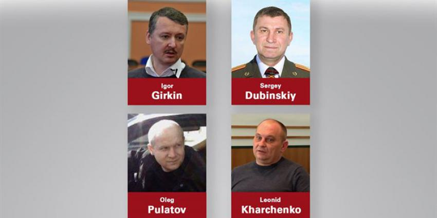 Vier verdachten neerhalen MH17