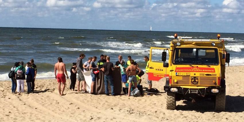 Koreaanse toeriste gereanimeerd op strand van Texel