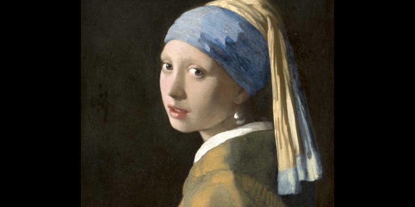 'Meisje met de parel' van Vermeer opnieuw doorgelicht