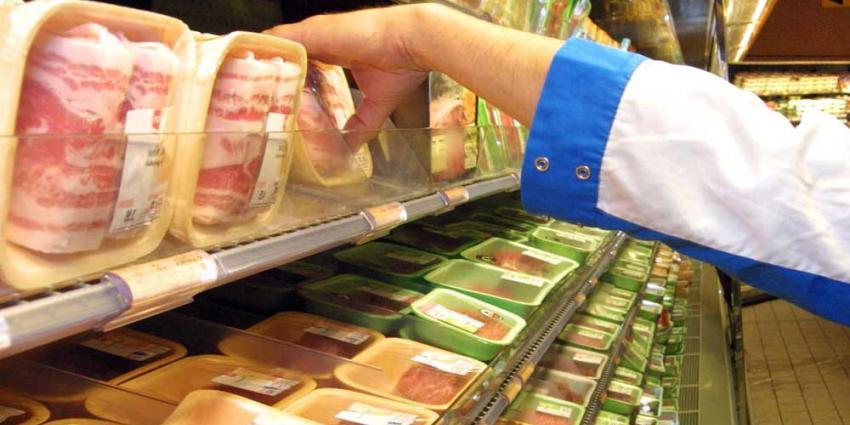 Foto van vlees in supermarkt   Archief EHF