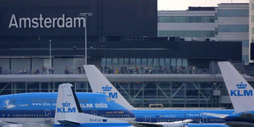 vliegtuigen-klm-schiphol
