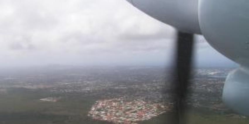 Foto van propelor vliegtuigje