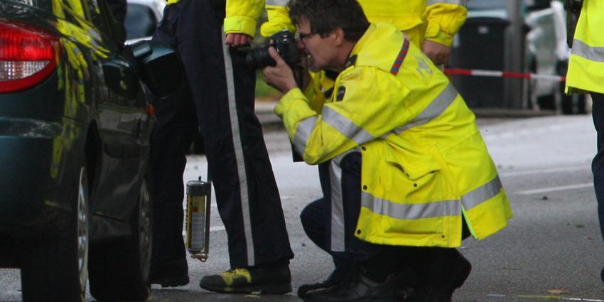 Foto van VOA politie verkeersongeval   Archief EHF