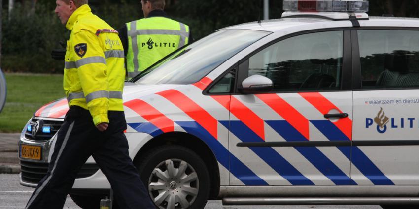 Foto van politie VOA ongeval | Archief EHF