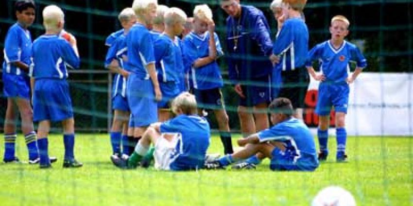 Foto van voetbal jeugd training | Archief EHF