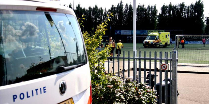 voetbalveld ambulance