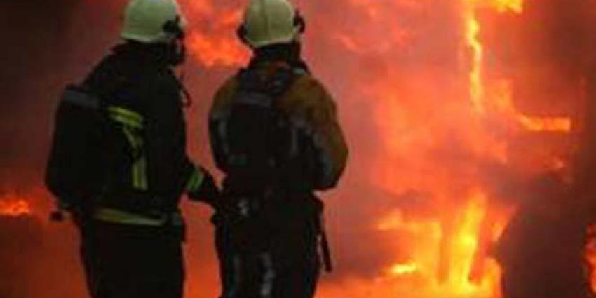 Forse vertraging op A2 door brand in vrachtwagen