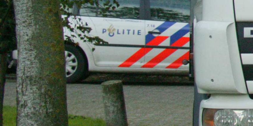 Drugsafval achtergelaten in vermoedelijk gestolen vrachtauto