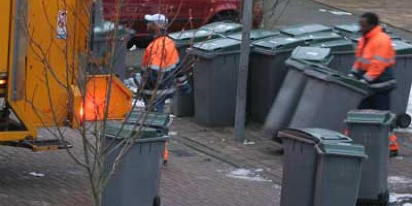 Foto van afvalcontainer vuilnisman | Archief EHF