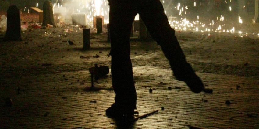Hondje komt om het leven door vuurwerk