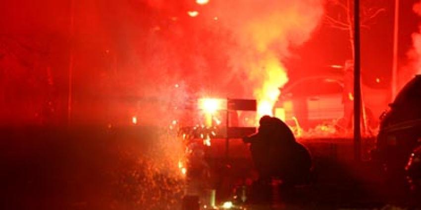 Foto van vuurwerk jaarwisseling   Archief EHF