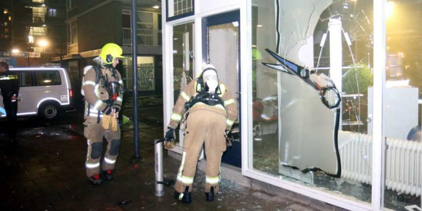 Veel schade aan kapperszaak door zwaar vuurwerk