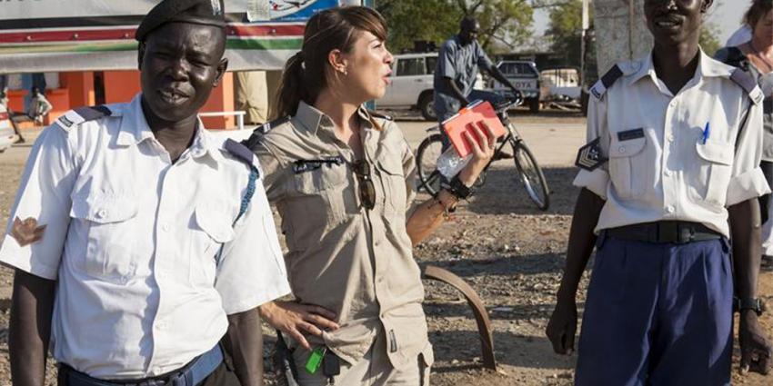 Archieffoto van Nederlandse marechaussee op Mali | Min. Defensie