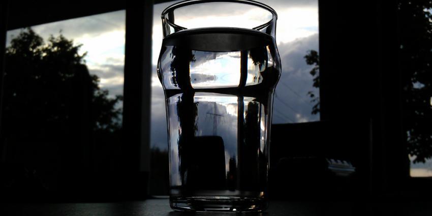 Foto van glas water | Archief EHF