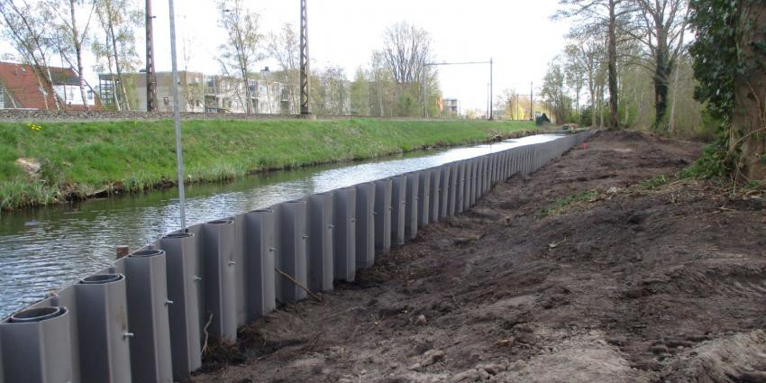 Werkzaamheden waterkeringen wijk de Greiden in Heerenveen