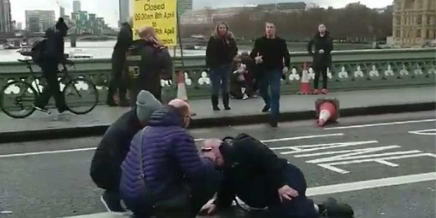 Gewonden na schoten en explosie bij Parlementsgebouw Londen