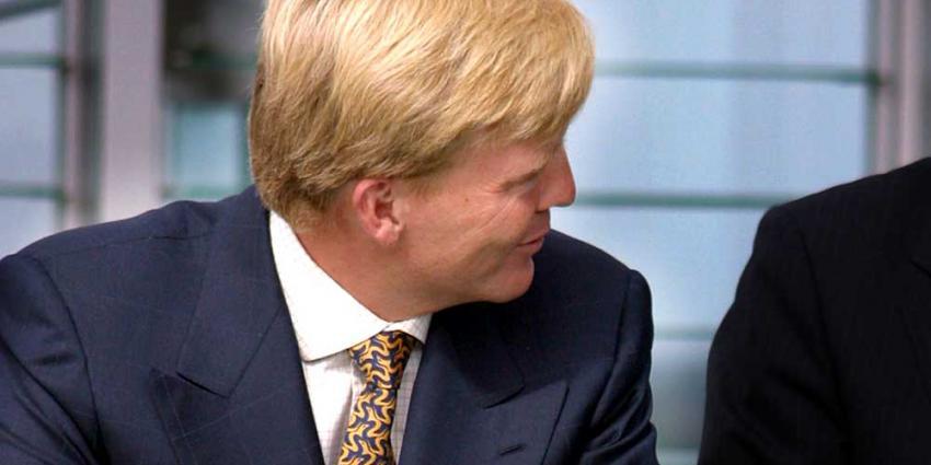 Foto van Willem-Alexander   Archief EHF