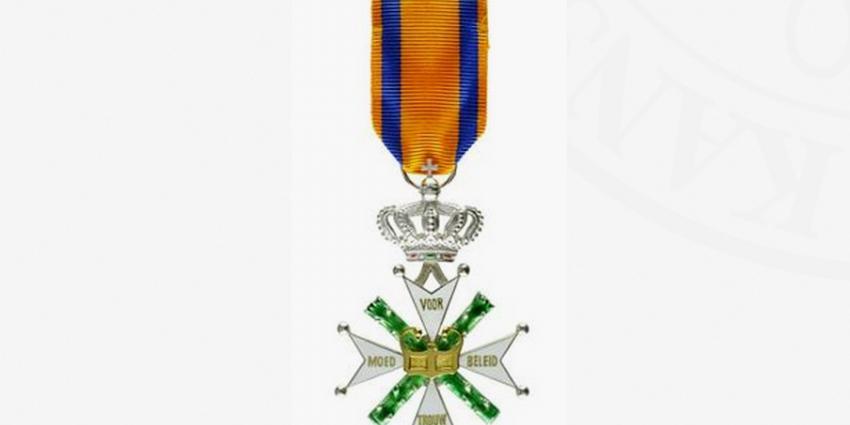 Willems-Orde voor majoor Gijs Tuinman