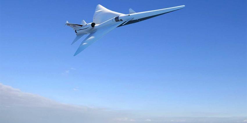 NASA laat Lockheed nieuw supersonisch vliegtuig X-plane bouwen