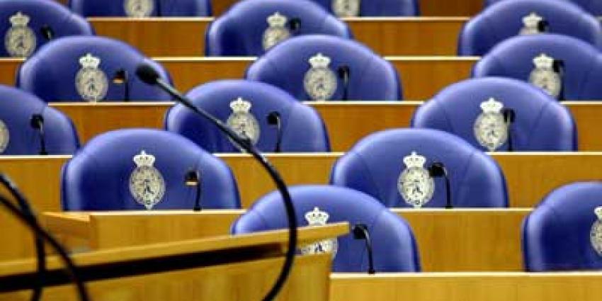 Foto van zetels in Tweede Kamer | Archief EHF