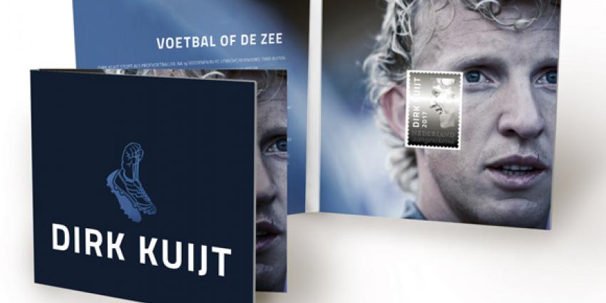 PostNL eert Dirk Kuijt met zilveren postzegel