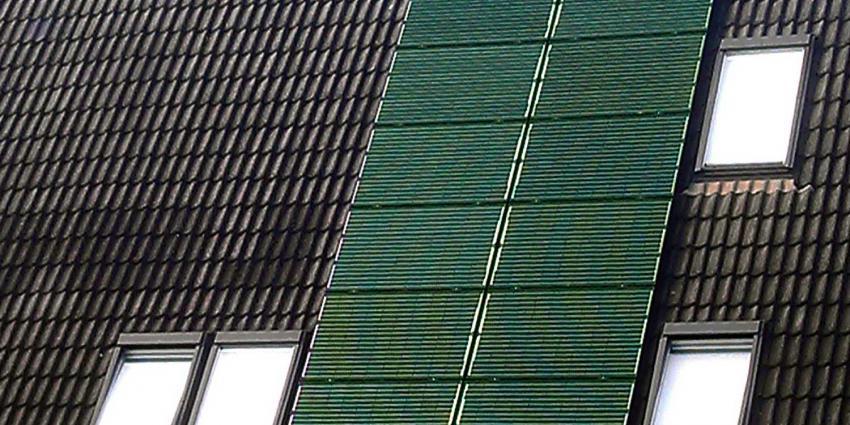 Zonnepanelen 'camouflage'-groen door nanodeeltjes