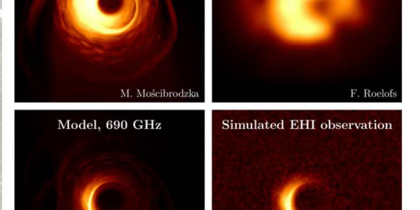 Telescopen in de ruimte voor nog scherpere foto's van zwarte gaten