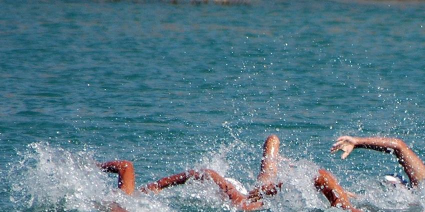 Foto van zwemmers in rivier | BON