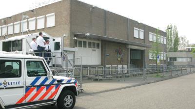 Beveiligde rechtbank Osdorp