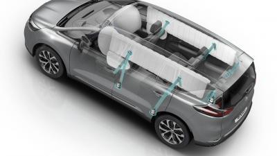 Euro NCAP: vijf sterren voor Renault Espace