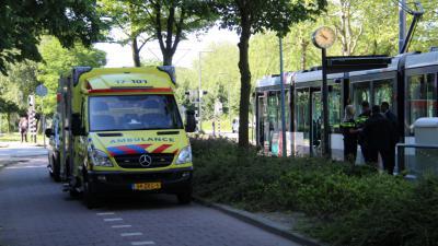 aanrijding voetganger - tram