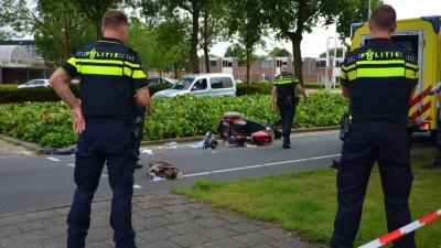 Bestuurder scootmobiel ernstig gewond bij aanrijding in Veendam