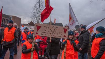 Manifestatie sluiting Aldel | Rieks Oijnhausen | rieksoijnhausen.nl/