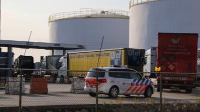 Foto van haven Vlaardingen
