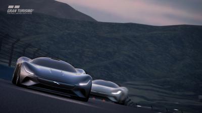 aguar onthult zijn eerste virtuele elektrische raceauto voor Gran Turismo Sport game
