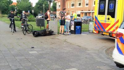 Foto van ongeval in Groningen