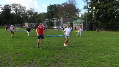 Inwoners en Raadsleden sporten samen