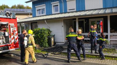 Wasdroger veroorzaakt woningbrand