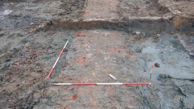 Fundering kazerne uit Napoleontische tijd gevonden in Delfzijl
