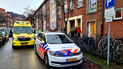 Hulpdiensten ontfermen zich over slachtoffer
