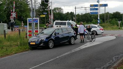 fietser gewond bij aanrijding