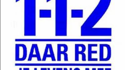 Foto van logo 112