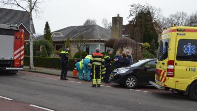 Fietsster aangereden door automobilist bij ongeval in Boxtel
