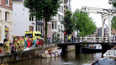 auto te water in Amsterdam