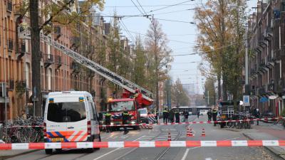 Onderzoek naar explosie in Amsterdam
