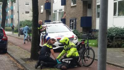 Politie slaat overvaller in de boeien