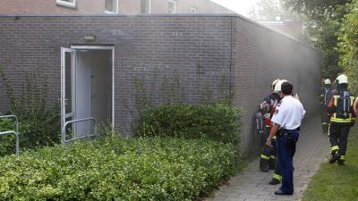Brand spouwmuur De Breehorn Veendam | Stichting VIP | www.parkstadveendam.nl