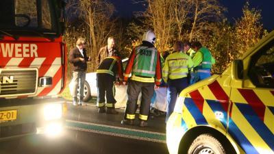 Meerdere gewonden bij aanrijding op N34